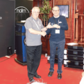 Audio T, Organisers of the Sound & Vision - The Bristol Show Receive Clarity Fellowship Award for Services to the Hi-Fi Industry