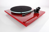 Rega Announce New Red Finish For Planar 2 & Planar 3 Turntables